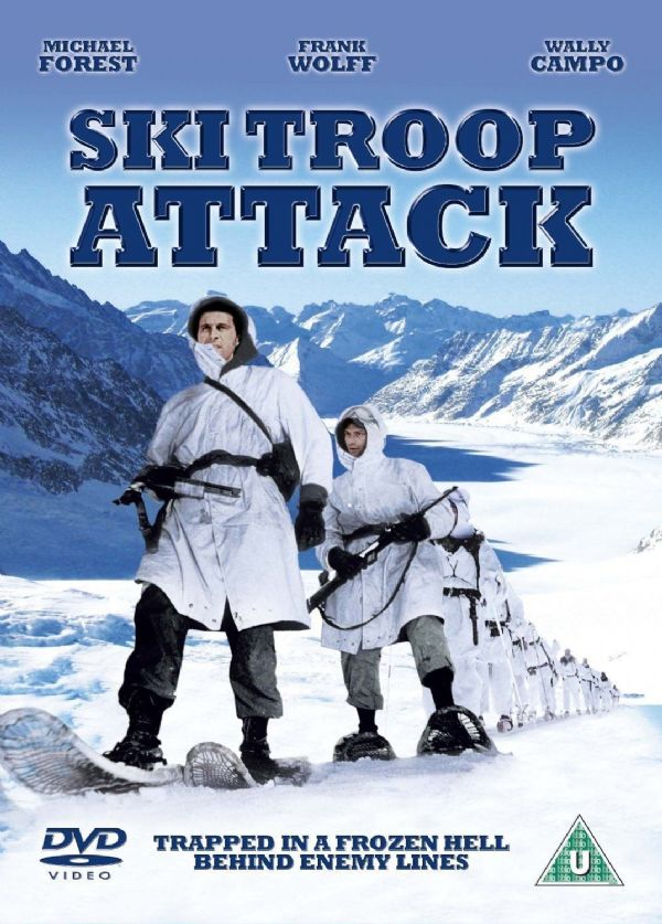 Ski Troop Attack (DVD 2010)  NEW N SEALED